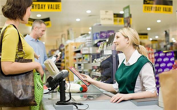 những câu tiếng anh giao tiếp tại quầy thanh toán siêu thị